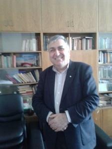Georgi Bliznashki in seinem Büro in der Sofioter Universität